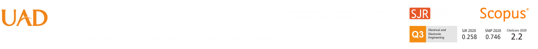 TELKOMNIKA (Telecommunication, Computing, Electronics and Control)